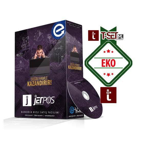 Jetpos Ticari Set Eko Paket Hızlı Satış Yazılımı