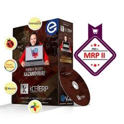 KOBİERP E-Ticaret Pro + MRPII Üretim Paket Erp Yazılımı