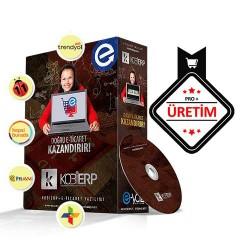 KOBİERP E-Ticaret Pro + Üretim Paket Erp Yazılımı