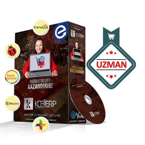 KOBİERP E-Ticaret Uzman Paket Erp Yazılımı